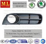 Carro Bumper Grille para Skoda Fabia From 2007 (5J0853665)