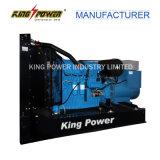 gerador Diesel elétrico silencioso da potência de 120kw Perkins com alternador de Stamford