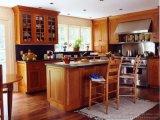 Мебель кухни твердой древесины 2015
