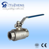 2 parti Thread Ball Valve con Lock Handle