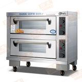 Preços do forno de padaria do gás do uso do tipo e do pão do forno do cozimento da plataforma