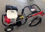 De Wasmachine Powed van de hoge druk door de Motor van de Benzine van het Type van Exemplaar van Robin/van Honda