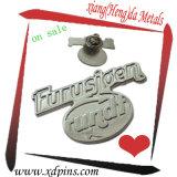 Preiswerte kundenspezifische antike kupferne Metallrevers-Stifte (W-17)