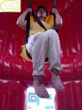 Trempoline gonflable de Bungee avec le ventilateur de puissance élevée