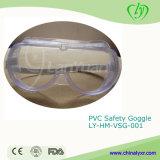 Occhiali di protezione di sicurezza dell'occhiali di protezione del PVC della strumentazione di laboratorio