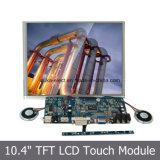 10.4 Monitor der Zoll-Bildschirm-widerstrebender Noten-SKD mit USB-Schnittstelle