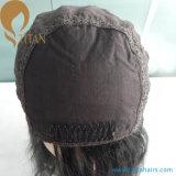 Парик первоначально монгольских волос девственницы Silk верхний еврейский для женщин
