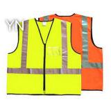 Roupa elevada do Workwear/segurança de Visibilith/veste reflexiva com a fita reflexiva para o Workwear e os Outworks