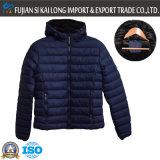 Esterno di inverno degli uomini Wear Giacca a vento imbottita con Cap