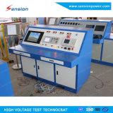 Banco automático do teste do transformador com carga nenhum teste de carga
