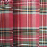 Il filato tessuto del popeline di cotone ha tinto il tessuto per le camice/vestito Rls60-6po degli indumenti