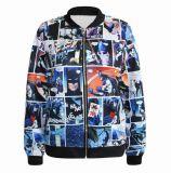 Куртка бомбардировщика способа людей нестандартной конструкции