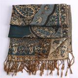 шаль равнины шарфа зимы 196*90cm Pashmina для повелительницы