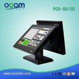 スーパーマーケットの接触POSターミナル機械店頭LCDの表示