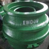 Recambios de la trituradora de HP100 HP200 HP300 HP400 HP500 para Metso