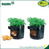 Planteur réutilisable de jardin de tissu de PE d'Onlylife E Cofriendly