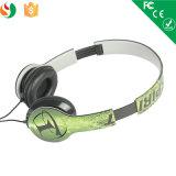 Heißer verkaufender preiswerter obenliegender Zoll gedruckter Förderung-Kopfhörer