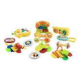플라스틱 유아 장난감 고정되는 아기 가르랑거리는 소리 (H0001193)
