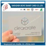 Sgs-anerkannte transparente Belüftung-magnetischer Streifen-Bauteil-Plastikkarte