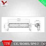 ' barra clara do único carro do diodo emissor de luz da fileira do CREE 200W 42.5 (HCB-LCS2001)