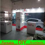 DIY moderna Backwall Tela portátil versátil Exposición Comercial