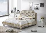 Mobiliario moderno de dormitorio de madera maciza