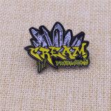 2015 주문 연약한 사기질 금속 접어젖힌 옷깃 Pin 기장