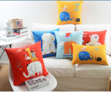 New-Style Animal Cushion 100%Polyester Transfer Print Pillow (LC-104)