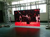 풀 컬러 발광 다이오드 표시 스크린을 광고하는 3.91mm HD 실내 임대료