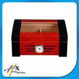 주문품 층에 의하여 분할되는 삼목 목제 담배 저장 상자 시가 박스