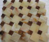 Heet verkoop Geel Marmeren Mozaïek met Uitstekende kwaliteit