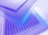 Лист поликарбоната полости цвета покрытия пяди длинной жизни UV