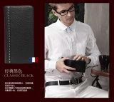 Handgemachte echtes Leder-Mappen-Kartenhalter-Ansammlung