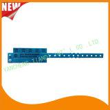 Vermaak 10 Armband van de Manchet van identiteitskaart van de Manchetten van het Lusje de Vinyl Plastic (e6070-10-35)