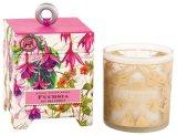 Vela romântica do presente de aniversário da soja de Scetned no vidro com caixa