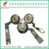 40mm Zoll-Metall-Identifikation-Jo-Abzeichen-Bandspule mit Stahlcode