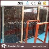 Natural de piedra de mármol Negro para Vanity Top / Cocina Top / piso