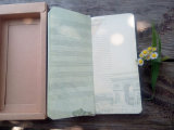 Tissu Hardcover Notebook avec Box pour Promotion Gift