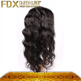 Baby Hair Full Lace Glueless Hair Wig를 가진 130% 조밀도