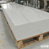 Feuille extérieure solide acrylique artificielle de panneau de mur en pierre de grandes brames de Kkr (V20161112)