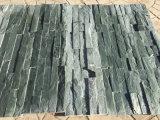 Ardesia verde naturale delle mattonelle dell'ardesia di tetto per la parete ed il pavimento