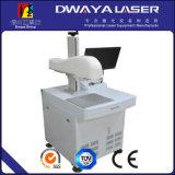 Steel Aluminum를 위한 2 바탕 화면 30W Fiber Laser Marking Machine