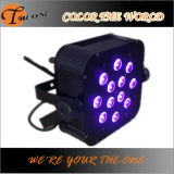 12X17W KTV Stage Wireless СИД Light Party Equipment