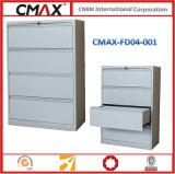 4개의 서랍 옆 서류 캐비넷 Cmax-Fd04-001