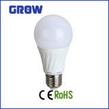 Luz de bulbo elevada do diodo emissor de luz do lúmen da luz de bulbo E27 do diodo emissor de luz de Dimmable