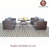 Nuovo Set Outdoor Rattan Dining Set con Table (1207)
