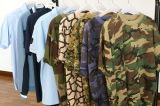 Camoflage Short Sleeve Round Neck T-Shirt (1130A)