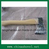 Ось стали углерода режущего инструмента оси с деревянной ручкой