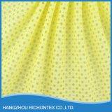Tela por atacado do laço, tela amarela do laço, tela de nylon do laço