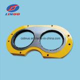 Carro C5 del mezclador concreto de la maquinaria de construcción de la ingeniería